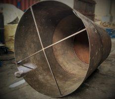 مراحل ساخت مخروط