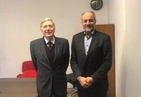 دیدار دو رئیس انجمن ایران و ایتالیا در اروپا