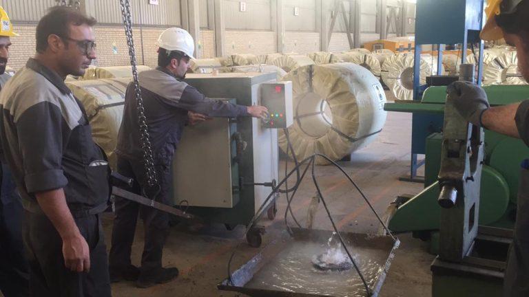 عملیات حرارتی شرکت صنعت ورق آرین پاژ