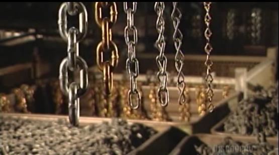 ساخت زنجیر های فولادی