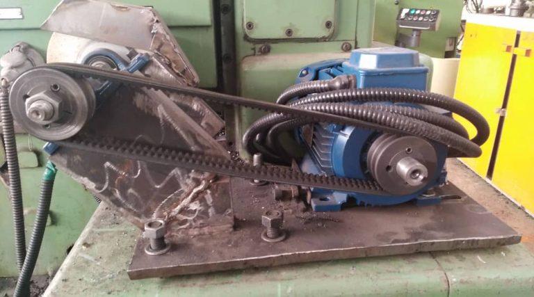 ساخت سنگ محور قابل نصب بر روی دستگاه تراش