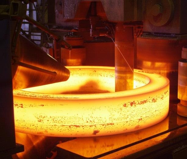 فورج حلقه فولادی